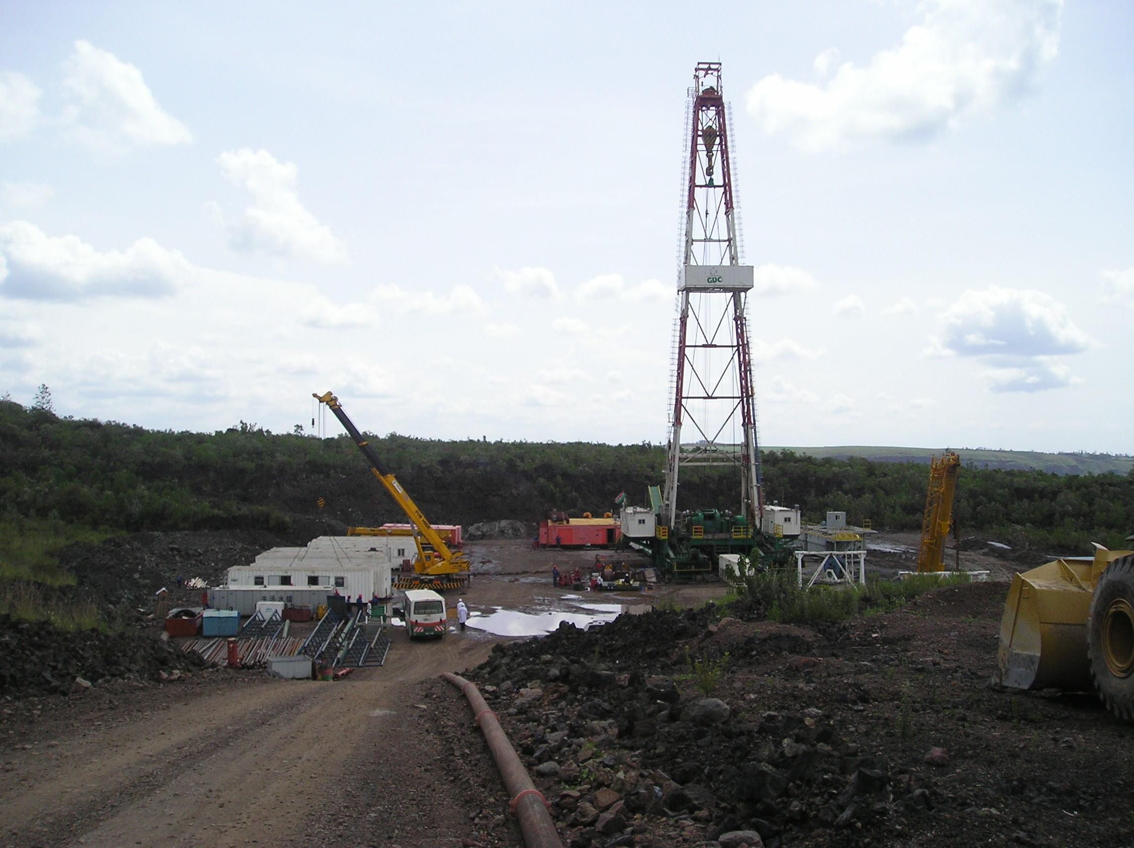 Drilling at Menengai