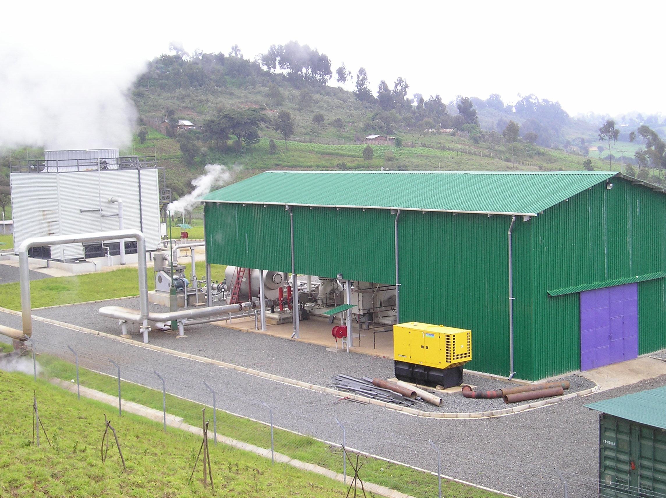 Eburru wellhead Generator