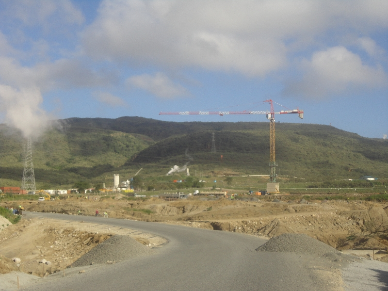 Olkaria I unit 4&5 construction