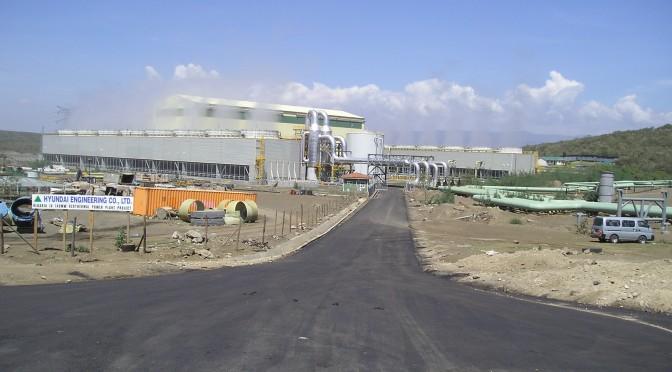 HE President Uhuru Kenyatta opens Olkaria IV power plant